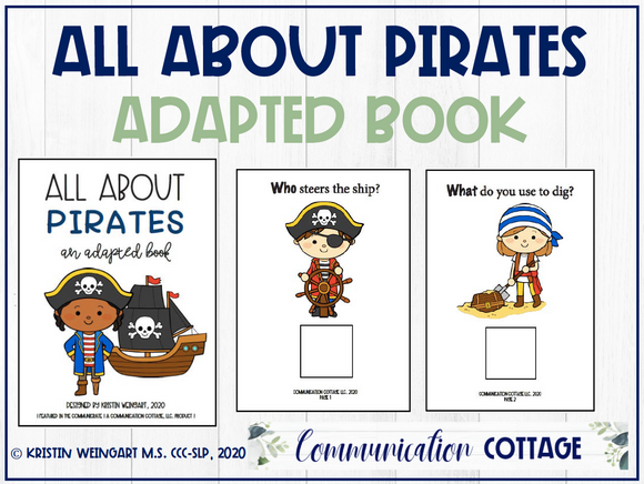 All About Pirates: Adapted Book