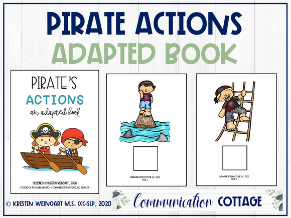 Pirate Actions: Adapted Book