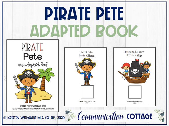 Pirate Pete: Adapted Book