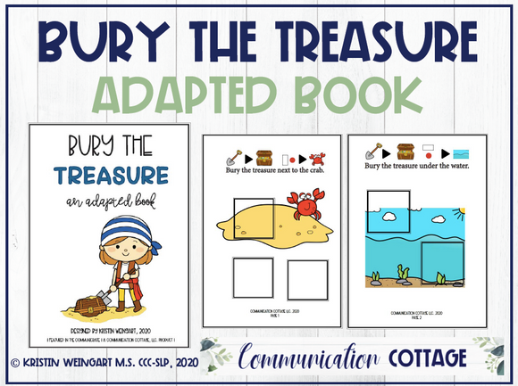Bury The Treasure: Adapted Book