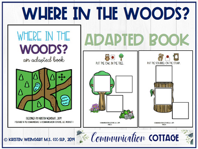 Where In The Woods: Adapted Book