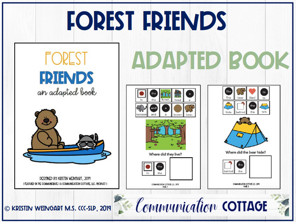 Forest Friends: Adapted Book