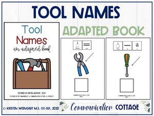 Tool Names: Adapted Book