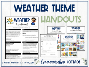 Weather Theme Guide + Recs