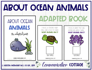 About Ocean Animals: Adapted Book