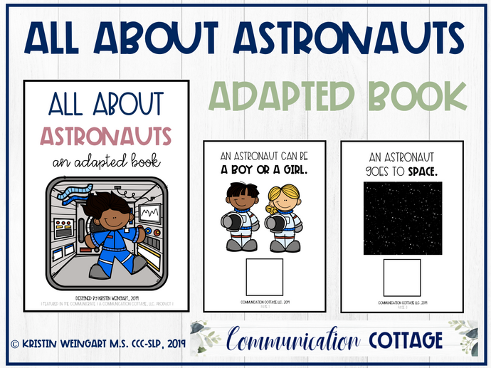 All About Astronauts: Adapted Book