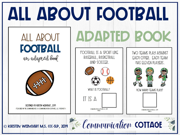 All about Football: Adapted Book