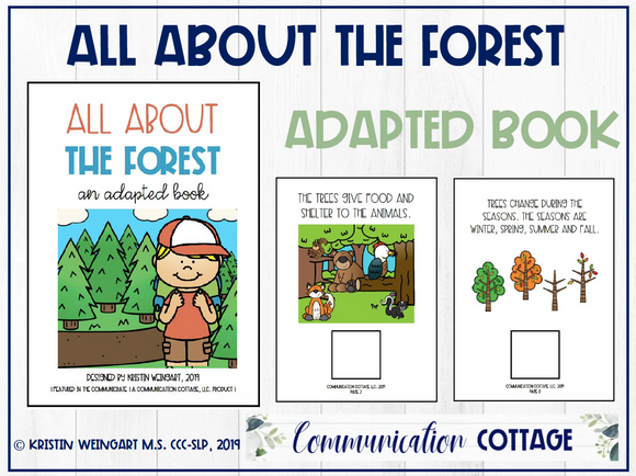 All About The Forest: Adapted Book