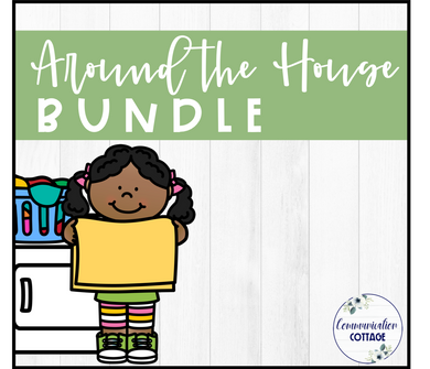 Around the House Digital Theme Bundle