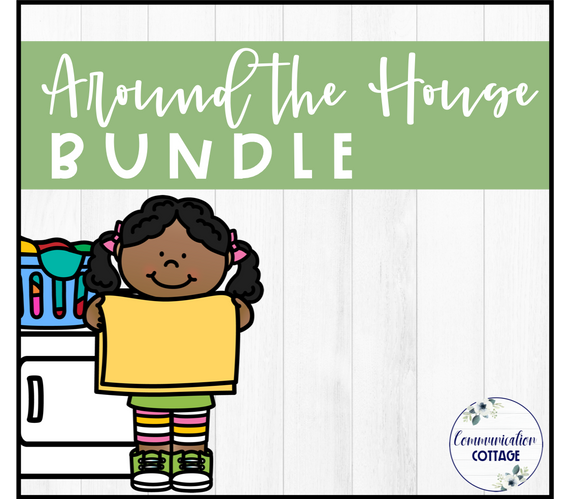 Around the House Theme Digital Bundle