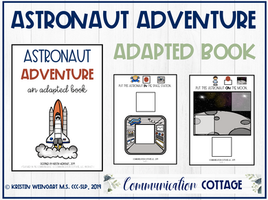 Astronaut Adventure: Adapted Book