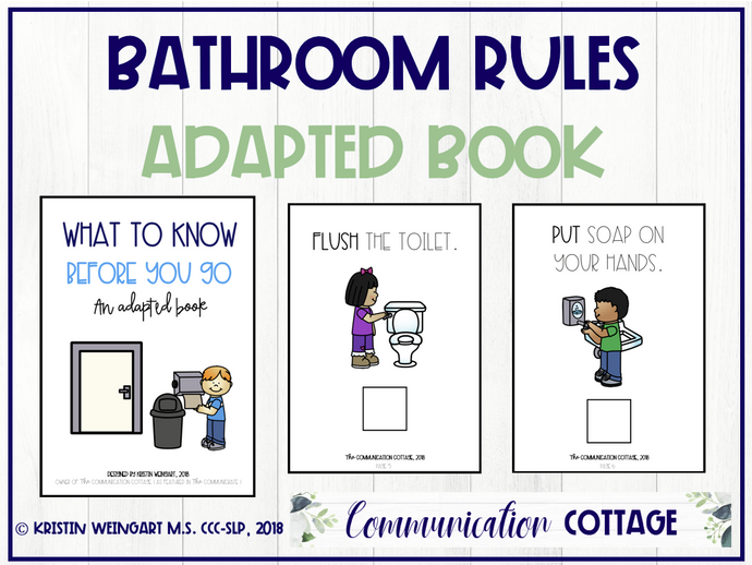 Bathroom Rules: Adapted Book