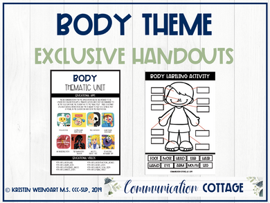 Body Theme Exclusive Handouts