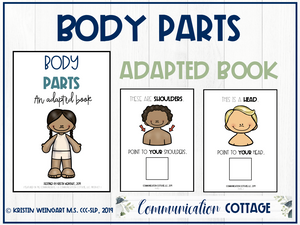 Body Part: Adapted Book