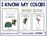 I Know My Zoo Colors: Adapted Book