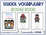 School Vocabulary: Adapted Book