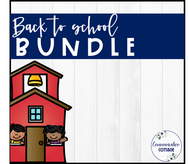 Back to School Digital Theme Bundle