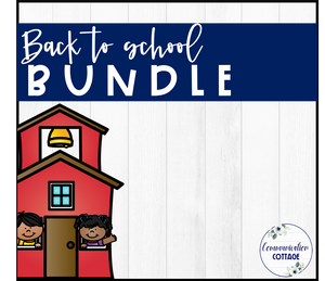 Back to School Theme Digital Bundle
