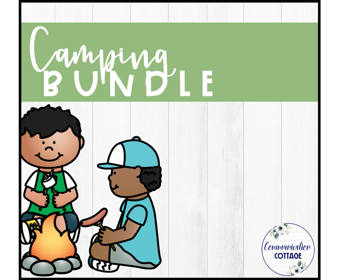 Camping Digital Theme Bundle