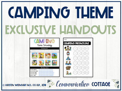Camping Exclusive Handouts
