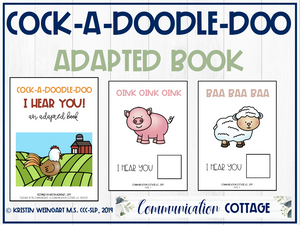 Cock-A-Doodle-Doo: Adapted Book