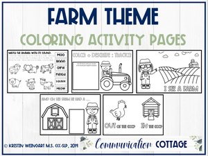 Farm Activity Pages