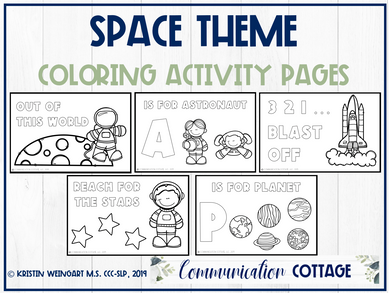 Space Activity Pages