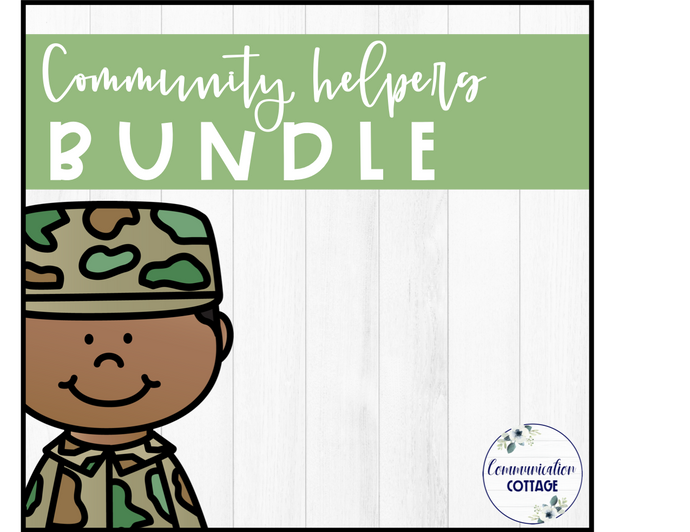 Community Helpers Digital Theme Bundle