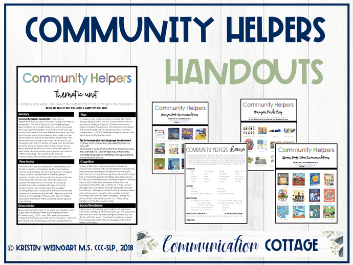 Community Helpers Theme Guide