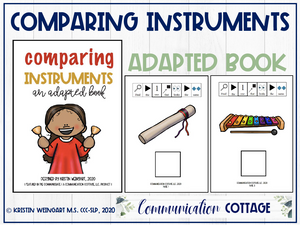 Comparing Instruments: Adapted Book