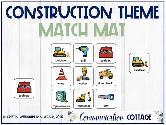 Construction Match Mat