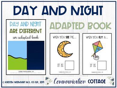 Day and Night Are Different: Adapted Book