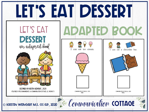 Let's Eat Dessert: Adapted Book