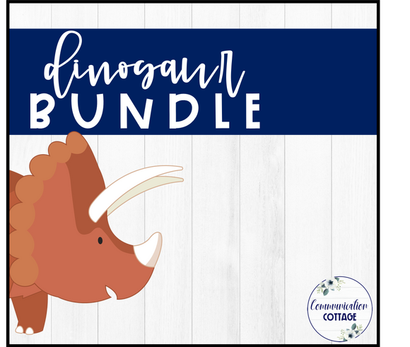 Dinosaur Theme Digital Bundle