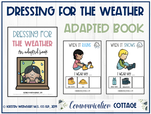 Dressing for the Weather: Adapted Book