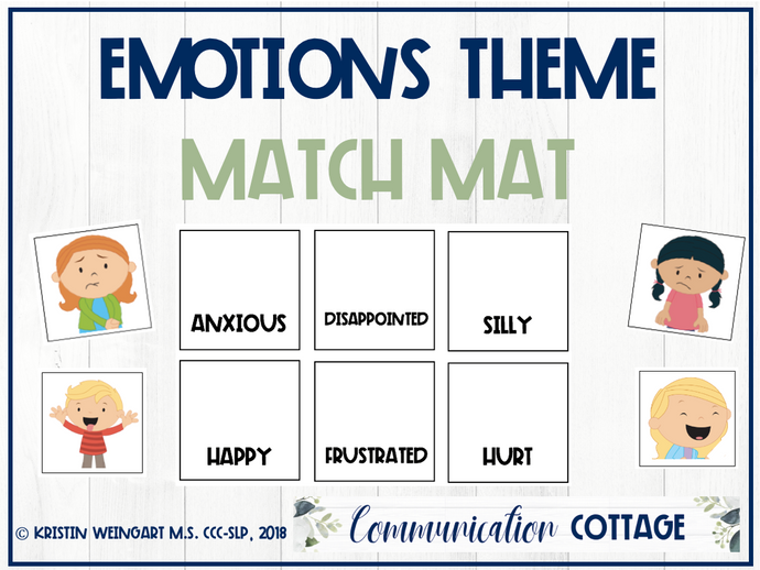 Emotions Match Mat