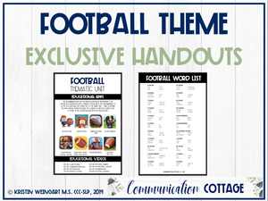 Football Exclusive Handouts