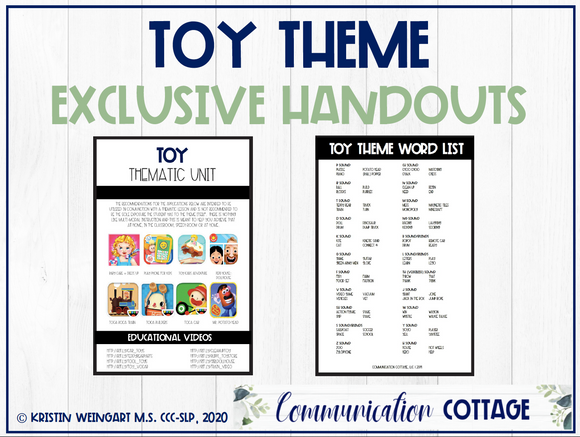 Toy Exclusive Handouts