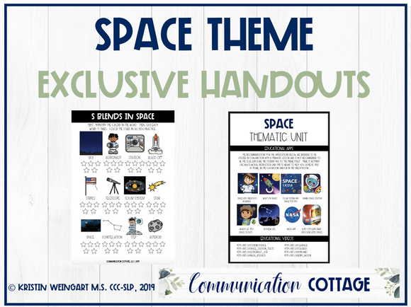 Space Exclusive Handouts