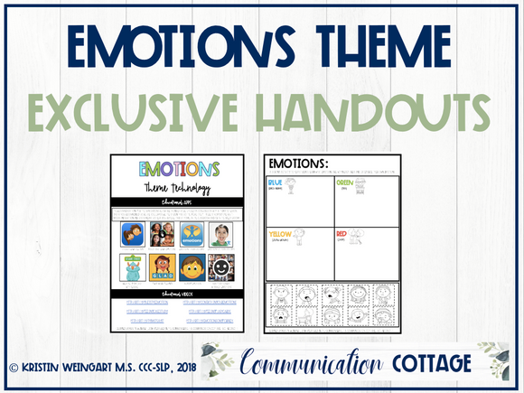 Emotions Exclusive Handouts