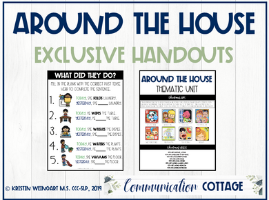 Around the House Exclusive Handouts