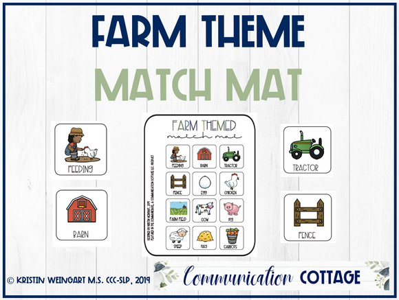 Farm Match Mat