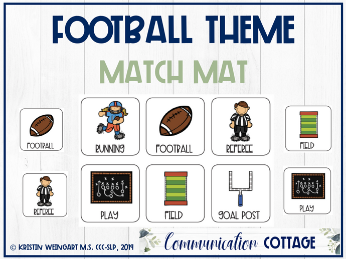 Football Match Mat