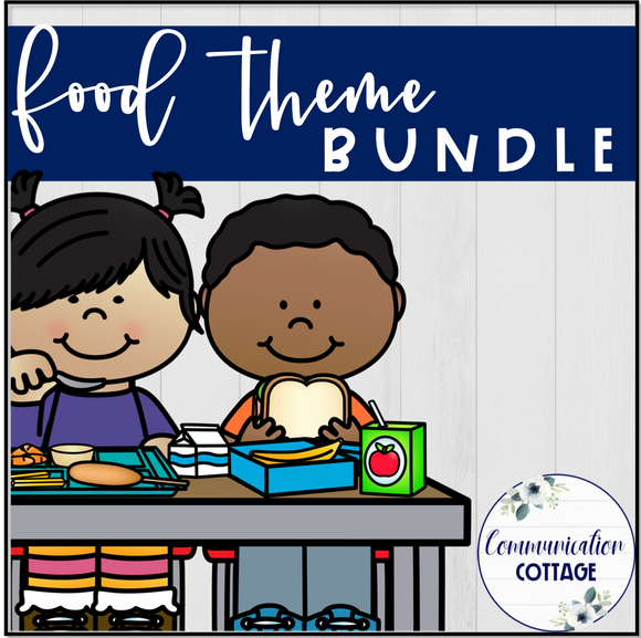 Food Theme Digital Bundle