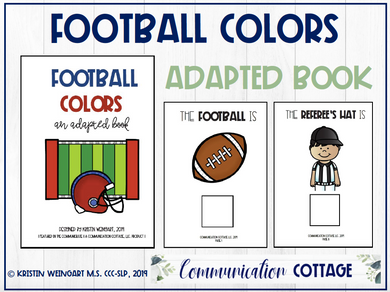 Football Colors: Adapted Book