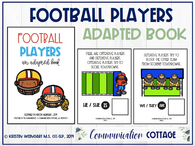 Football Players: Adapted Book