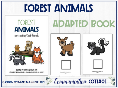 Forest Animals: Adapted Book