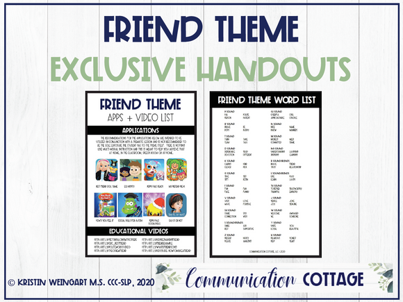 Friend Exclusive Handouts