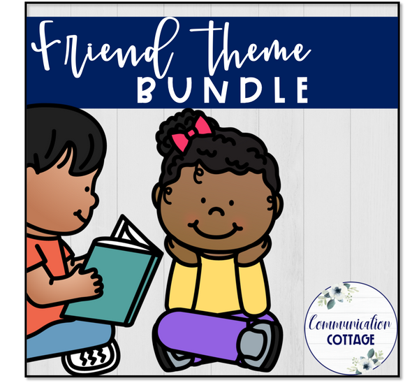 Friend Theme Digital Bundle