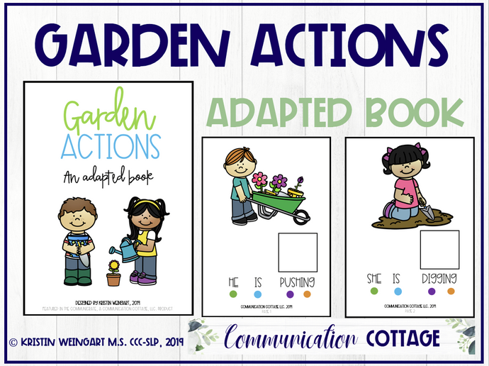 Garden Actions: Adapted Book (PDF)